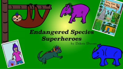 endangered species, comic book art