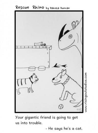 Rescue Rhino – He's a Cat (#4)