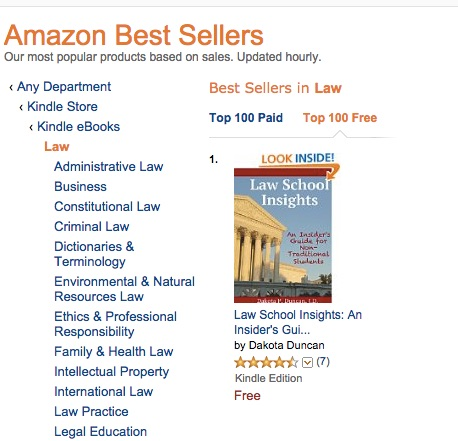 best seller screen shot